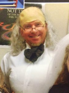 When your teacher dresses up as Benjamin Franklin